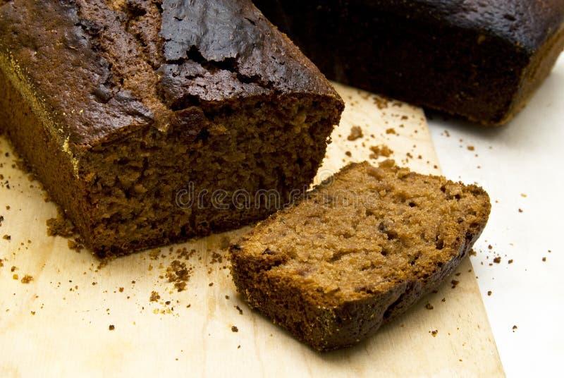 Испеченный gingerbread стоковое фото