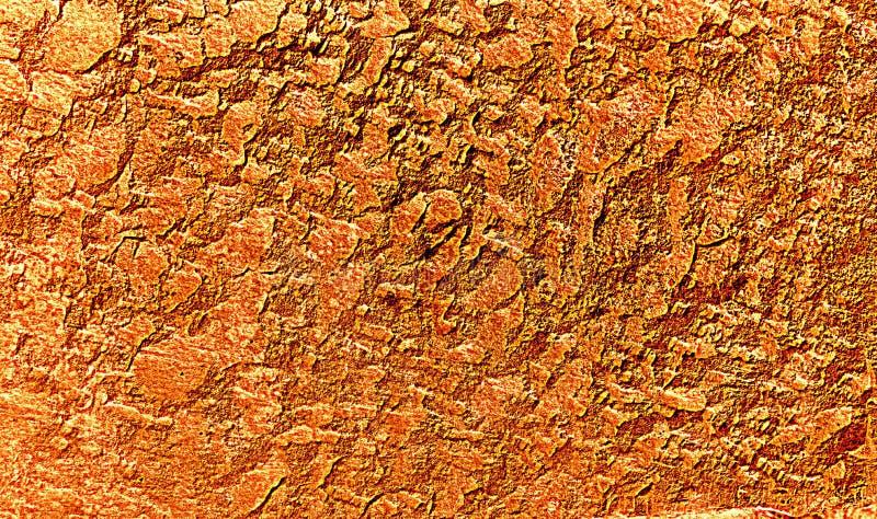 Испещрянная оранжевым предпосылка текстурированная золотом бесплатная иллюстрация