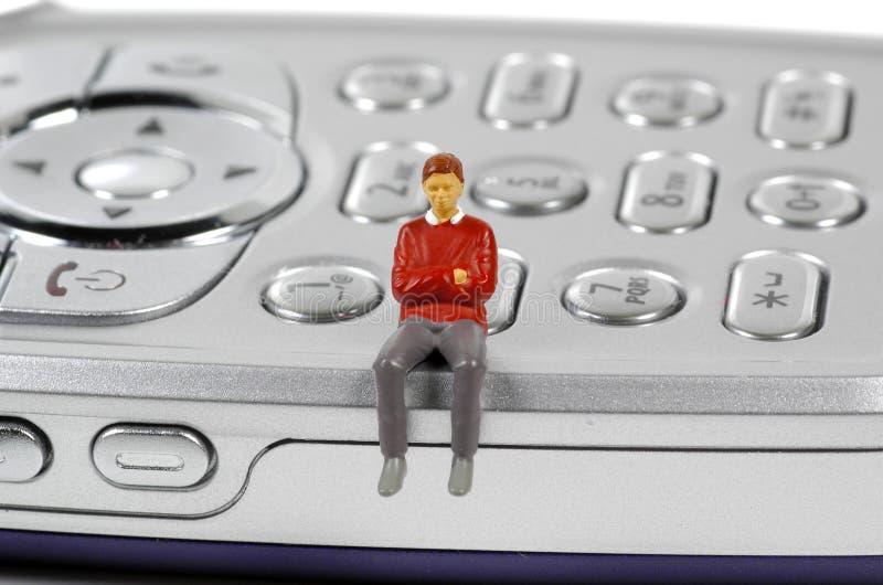 Download использование мобильного телефона Стоковое Фото - изображение насчитывающей cellphone, keypad: 77304