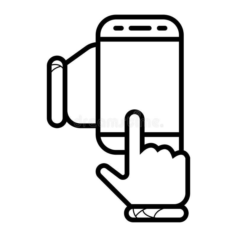 использование телефона руки франтовское бесплатная иллюстрация