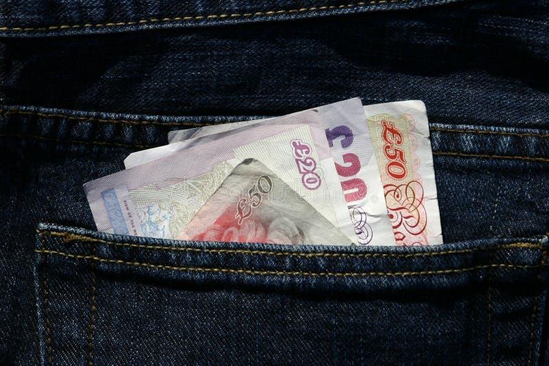 используемые бумажные деньги стоковое фото rf