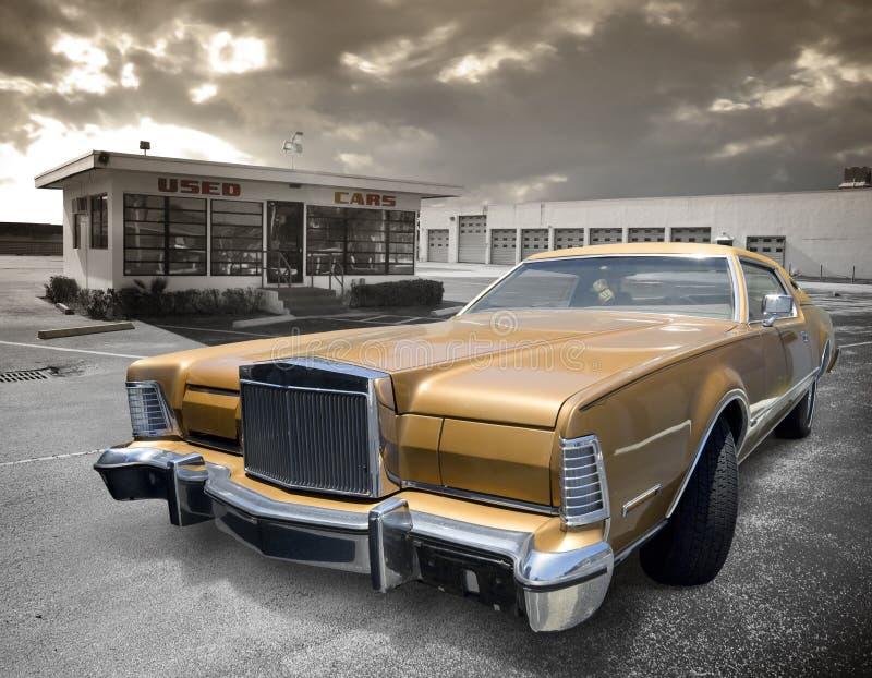 используемый автомобиль стоковые фотографии rf