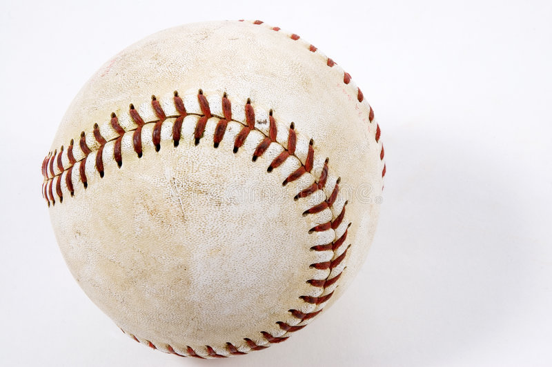 используемый бейсбол стоковые изображения