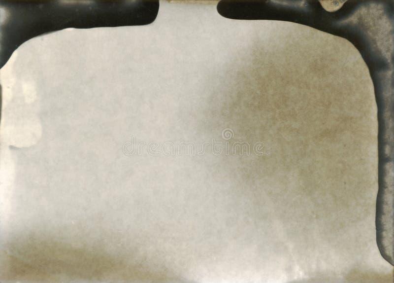 Используемая фотографическая бумага - слой для редактора фотографий стоковое изображение rf