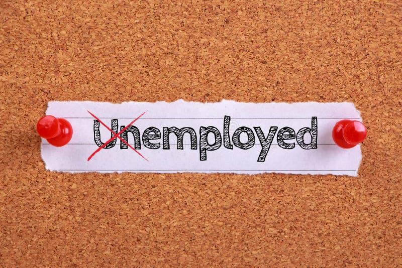 Используемое безработное стоковое изображение rf
