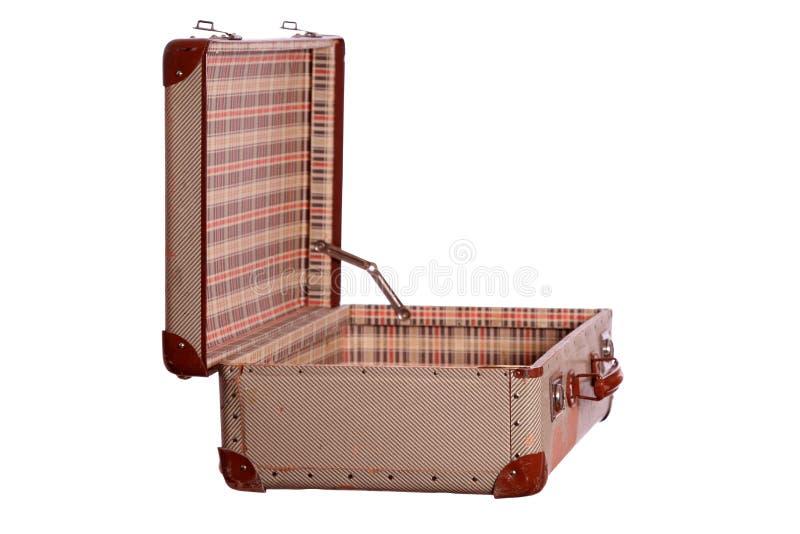Используемое suitecase стоковые фото