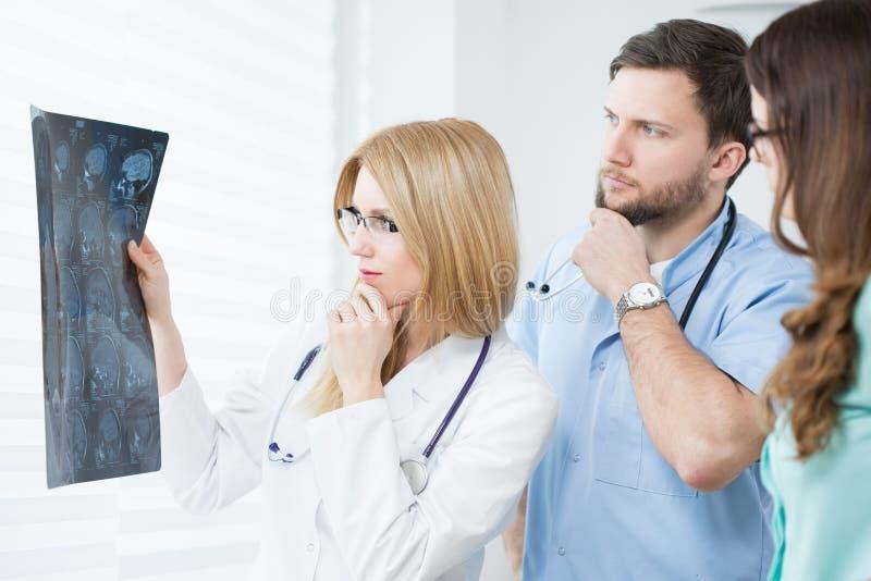 Испуганные врачи стоковое фото rf