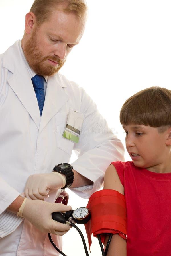 испытание кровяного давления стоковое фото