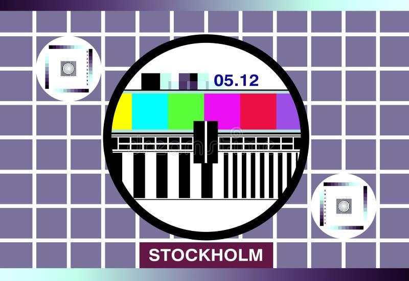 Download испытание tv карточки иллюстрация штока. иллюстрации насчитывающей crisp - 483107