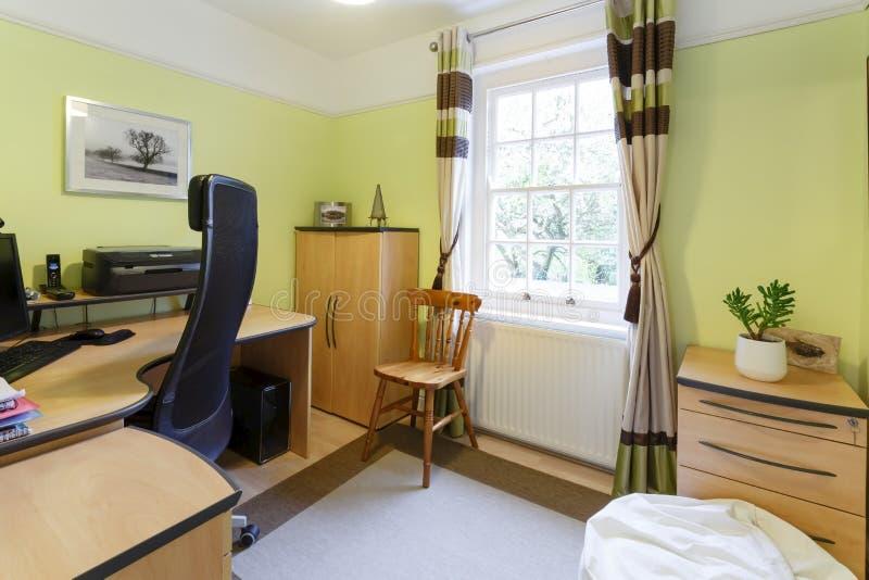 Исследование домашнего офиса стоковое изображение rf