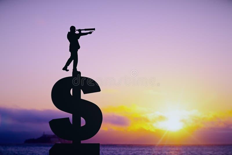 Исследование и концепция дохода стоковая фотография rf