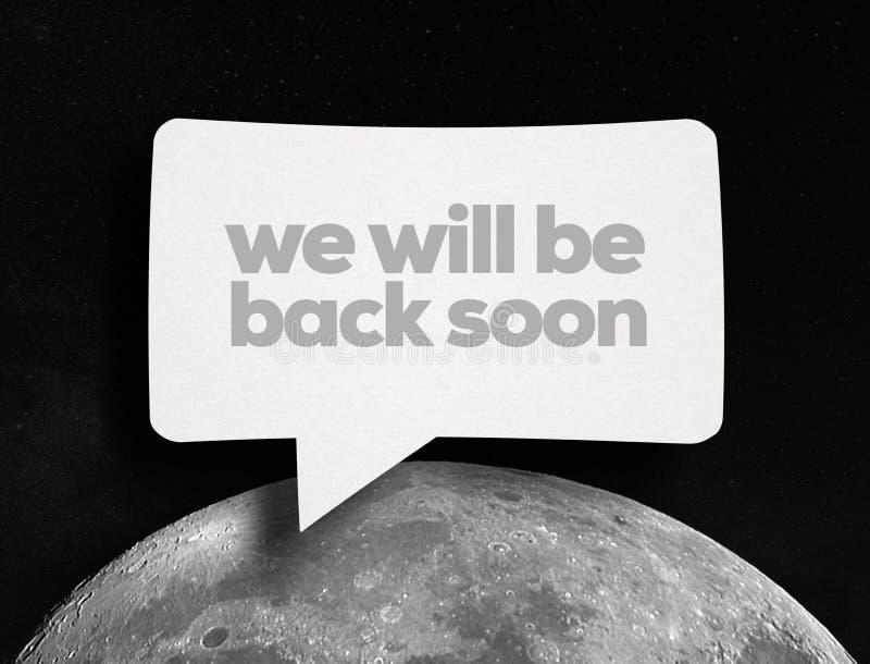 Исследование луны стоковые фото