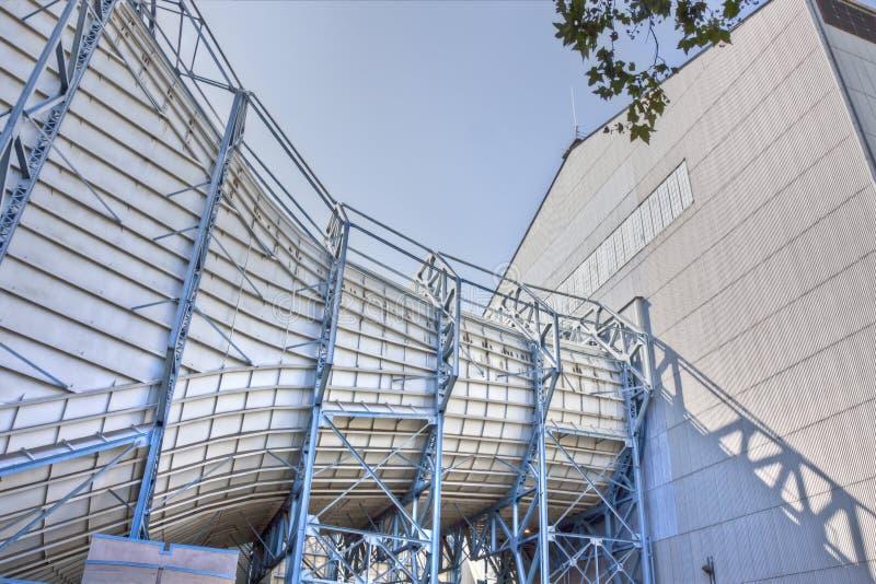 Исследовательскийа центр NASA Ames--Тоннели ветра стоковое изображение rf