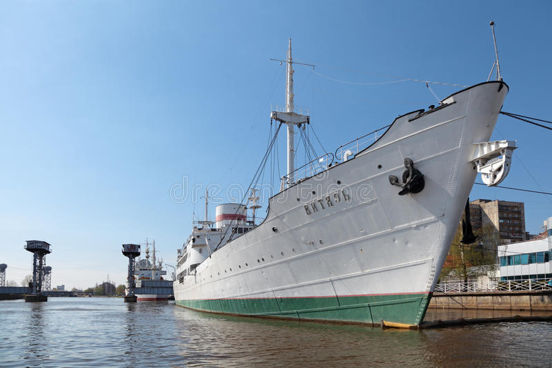 Исследовательское судно Vityaz стоковая фотография