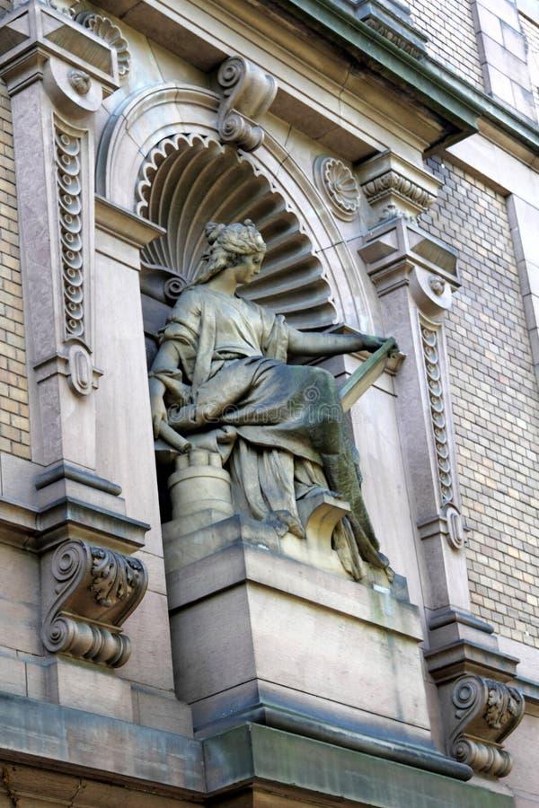Историческая архитектура в Гейдельберге, Германии стоковые фото