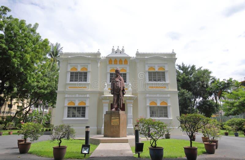 Историческая архитектура меньшая Индия Куала-Лумпур Малайзия стоковые фото