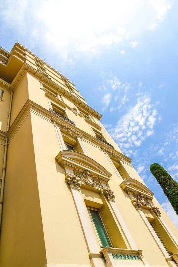 Историческая архитектура Монако на солнечный день стоковое фото