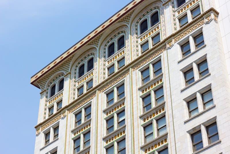 Историческая архитектура района центра города столицы США стоковое изображение