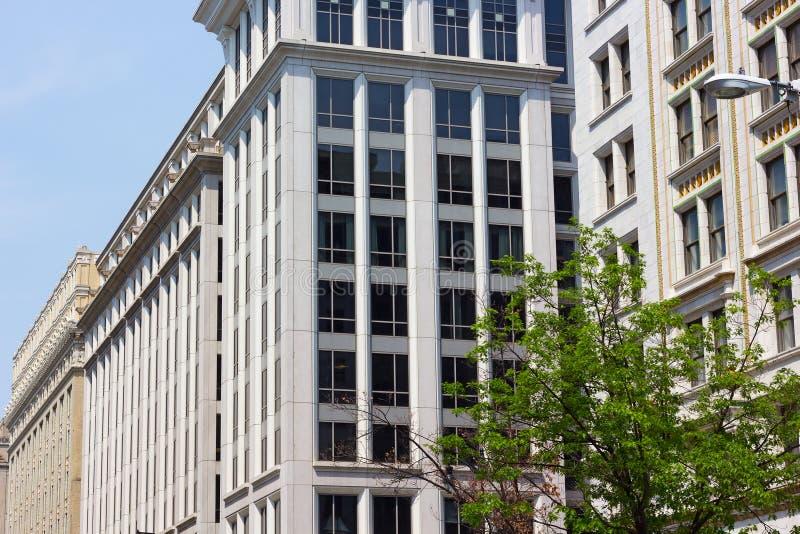 Историческая архитектура DC Вашингтона, США стоковое изображение rf