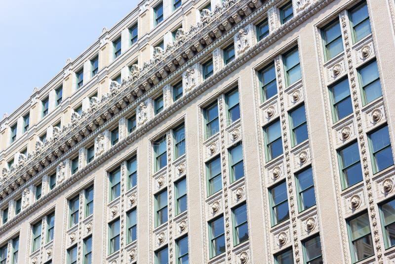 Историческая архитектура DC столицы США, Вашингтона, США стоковые фотографии rf