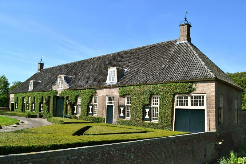 Историческая дом кареты. стоковое изображение rf