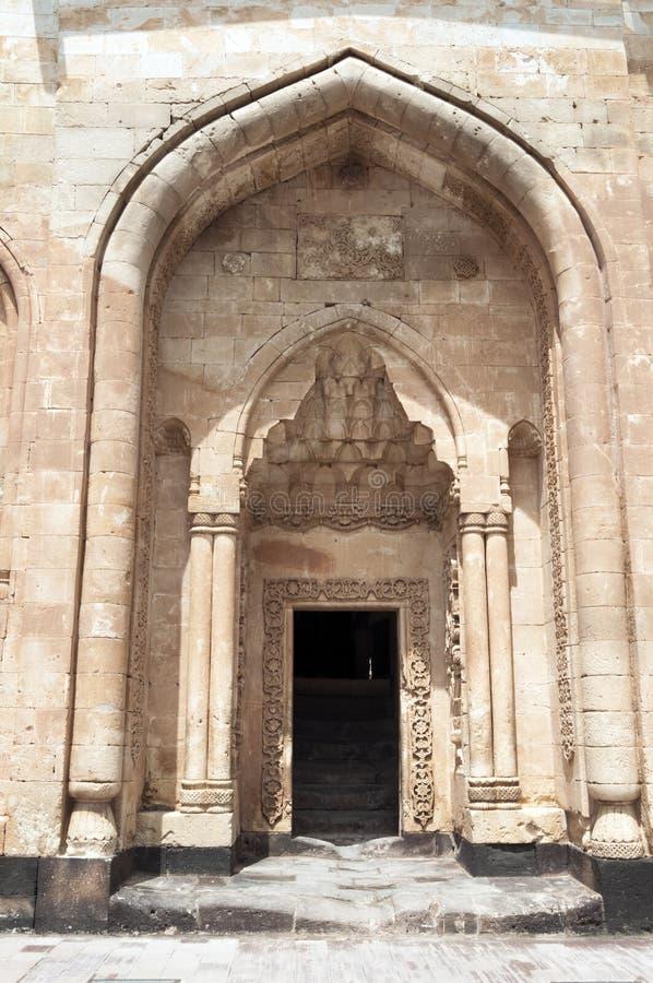 Историческая крепость Beyazit на границе с Ираном Timesstucco Seljuk стоковое фото rf