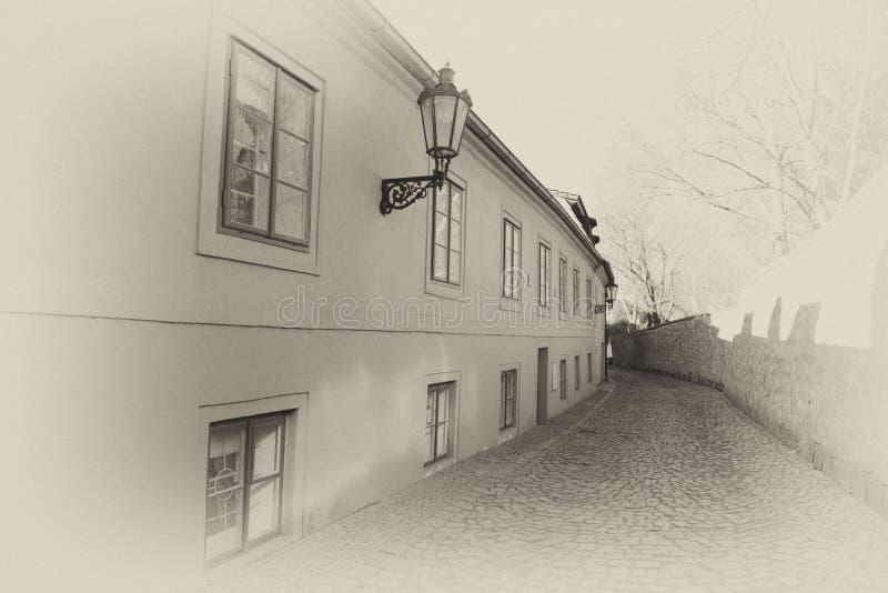 Историческая майна в Праге стоковые фото