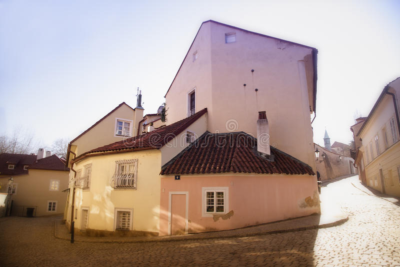 Историческая майна в Праге стоковое фото