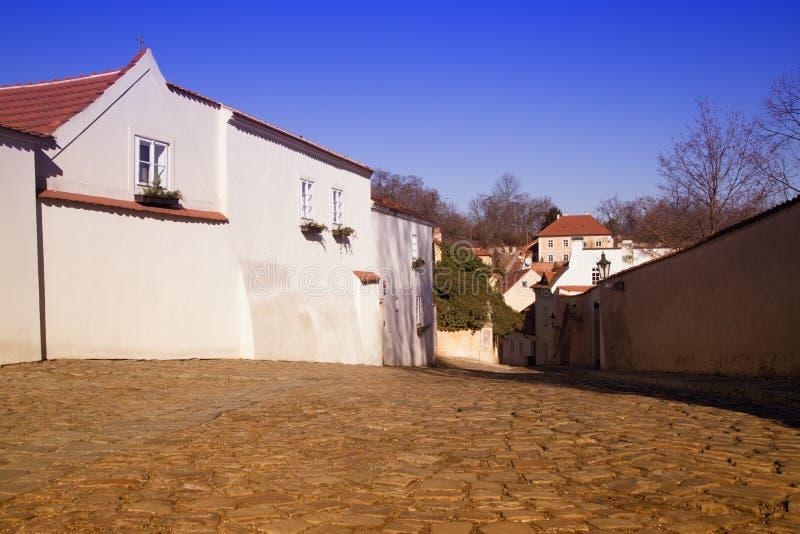 Историческая майна в Праге стоковое фото rf