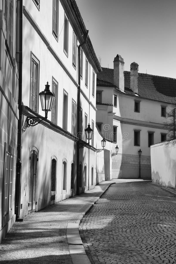 Историческая майна Праги стоковые изображения