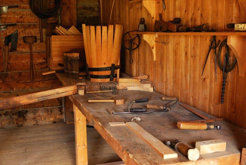 историческая мастерская стоковое фото rf