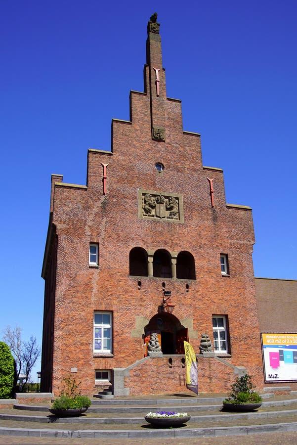 Историческая ратуша Medemblik, Нидерланды стоковая фотография