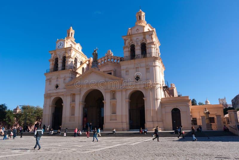 Историческая церковь в Cordoba стоковое изображение