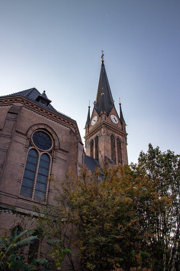 Историческая церковь Luther стоковые изображения