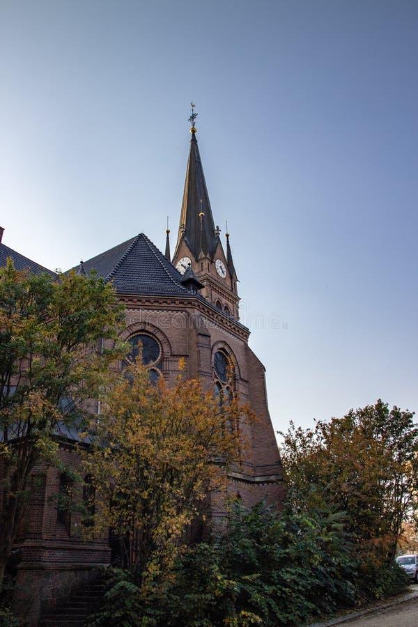 Историческая церковь Luther стоковые фото
