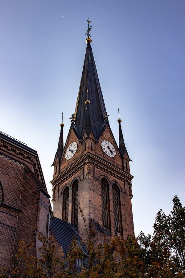 Историческая церковь Luther стоковое фото rf