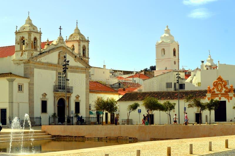 Историческая церковь Santa Maria стоковое изображение rf