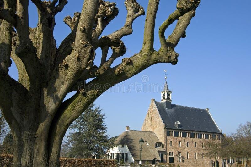 Историческая церковь Windesheim, Нидерландов стоковая фотография