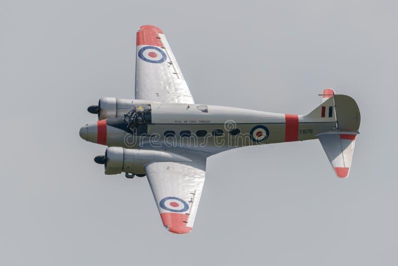 Исторические воздушные судн Avro Anson стоковые фотографии rf