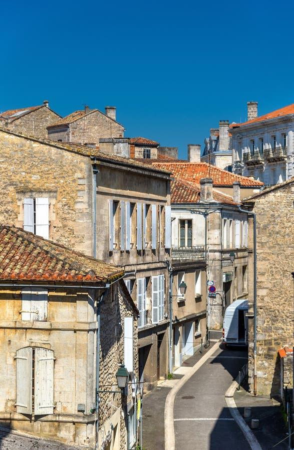 Исторические здания в Angouleme, Франции стоковые фото