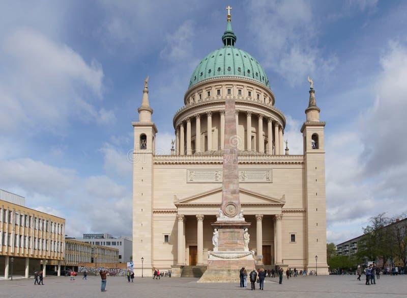 Исторические здания Потсдама, Германии, Европы стоковое изображение rf