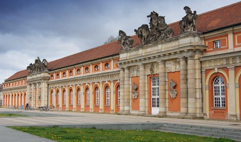 Исторические здания Потсдама, Германии, Европы стоковое изображение