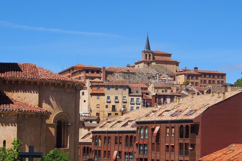 Исторические здания, Сеговия, Испания стоковая фотография rf
