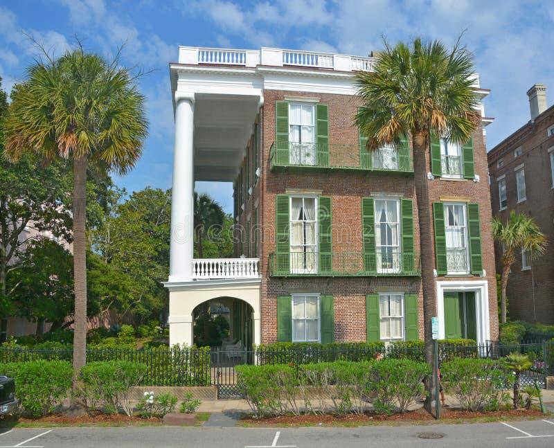 исторические дома стоковое фото