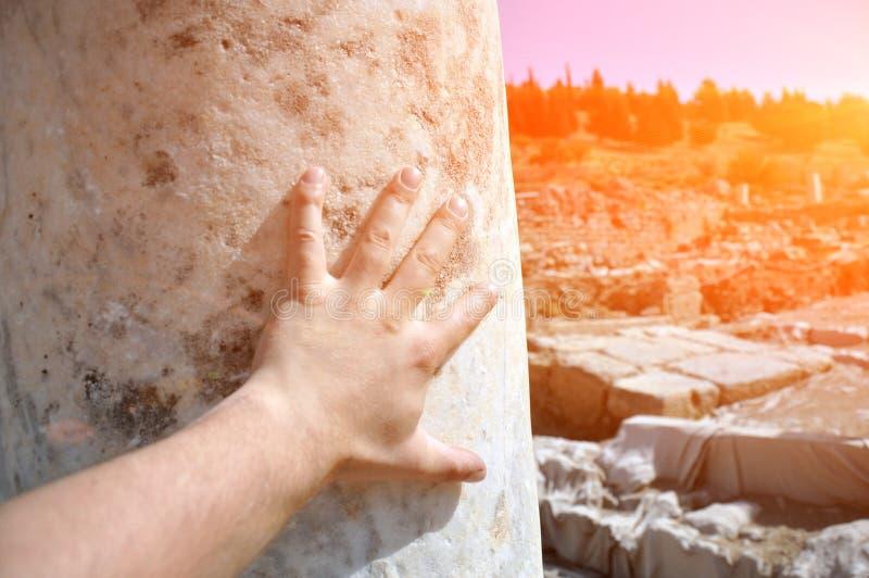 Исторические руины древнего города Эфес, Турция стоковое фото