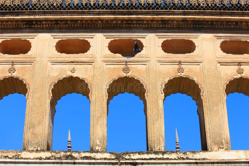 Исторические усыпальницы Paigah в Хайдарабаде Индии стоковые изображения rf
