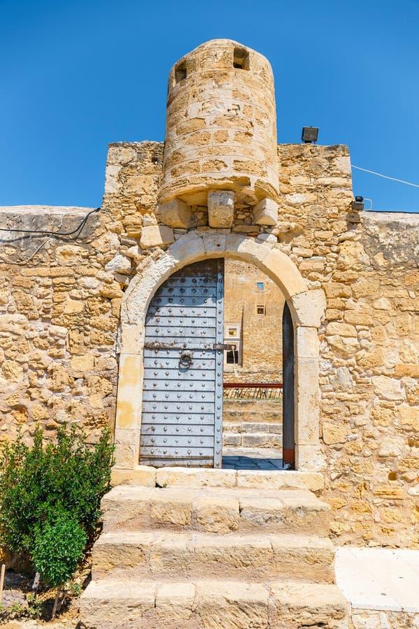 Исторический венецианский форт Kazarma Крит sitia стоковые фото