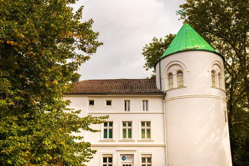 Исторический город unna в германии стоковые изображения rf