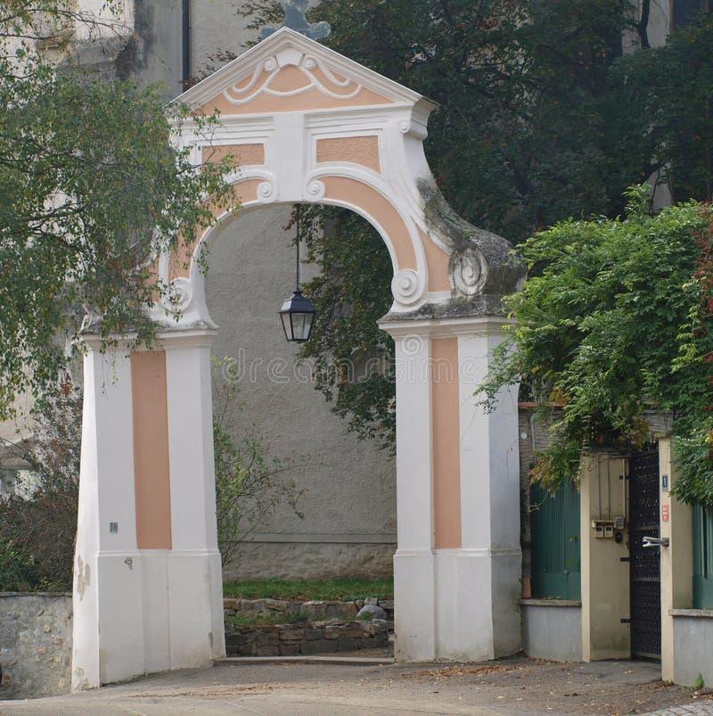 Исторический городок ворот Retz стоковые изображения rf