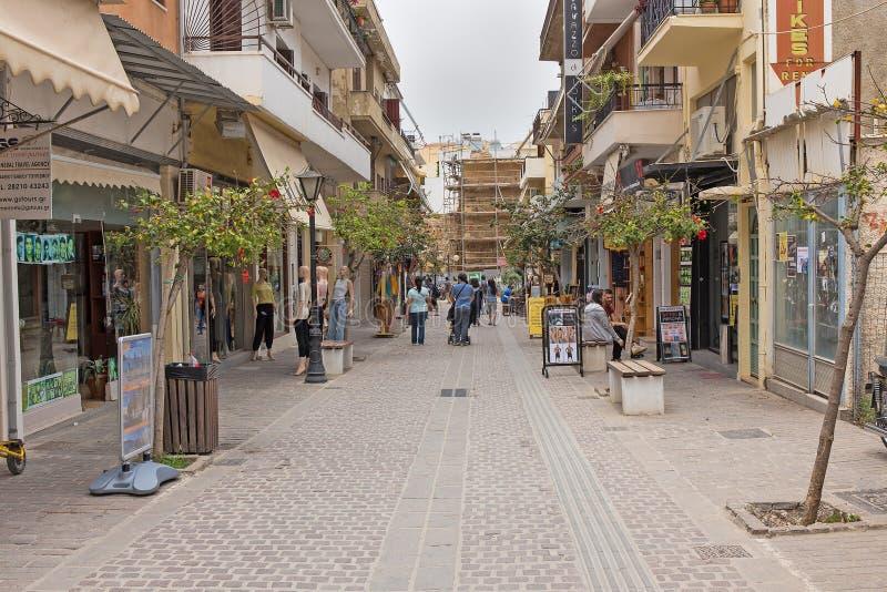 Download Исторический город Chania редакционное фото. изображение насчитывающей идиллично - 41654836